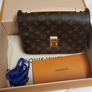 Brand New Louis Vuitton Pochette Metis (2019!)